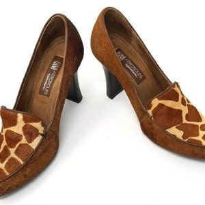 Aerosoles Shoes - Aerosoles womens pumps size 8 brown animal print